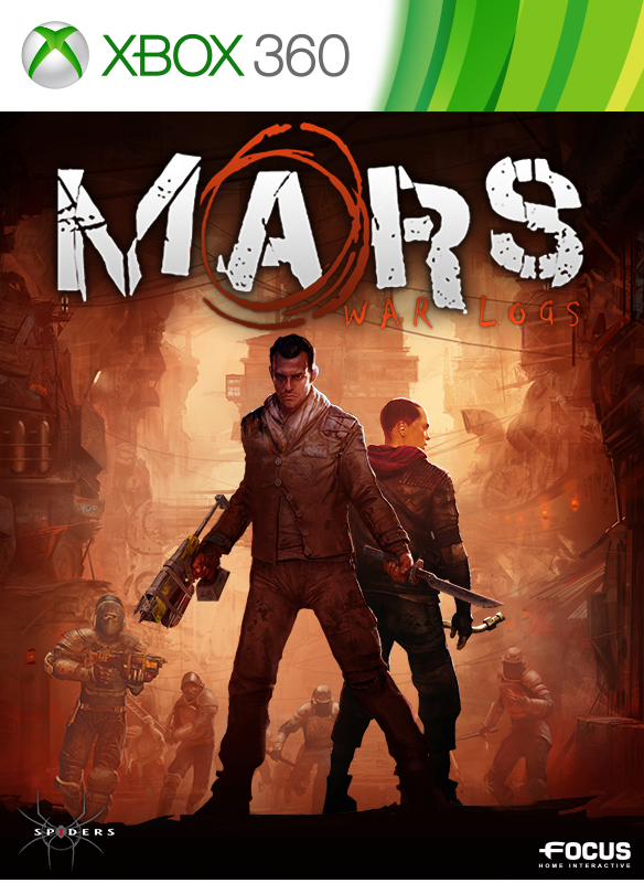 Mars: War Logs boxshot