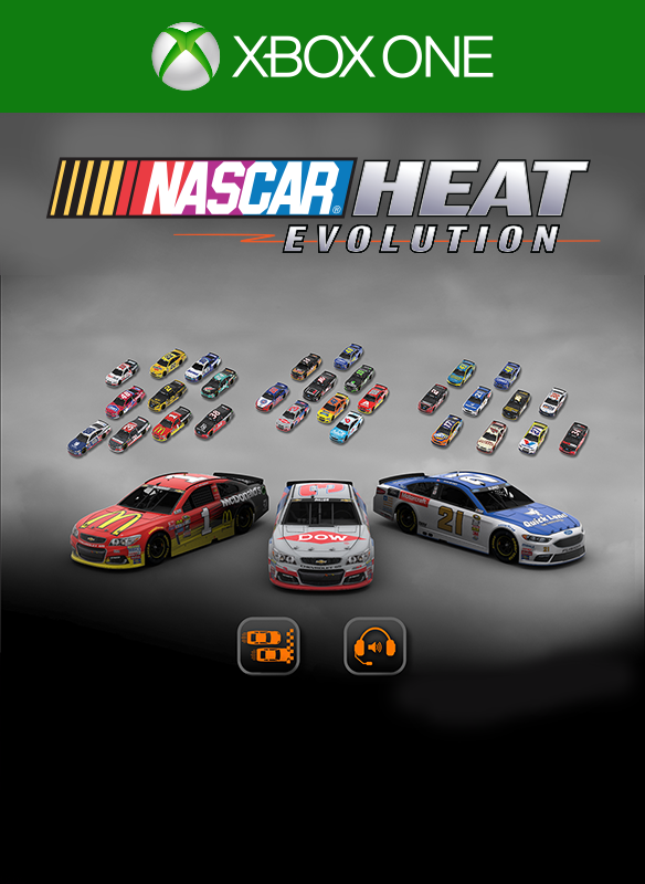 NASCAR Heat Evolution Pitt Pass 2 boxshot