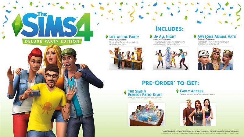The Sims™ 4 Deluxe Party Edition Screenshot