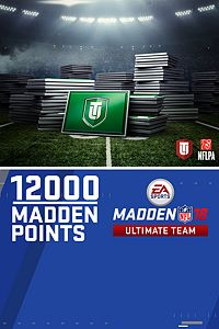 Carátula del juego 12000 Madden NFL 18 Ultimate Team Points