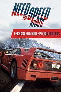 Carátula para el juego Need for Speed Rivals Ferrari Edizioni Speciali Racers de Xbox 360