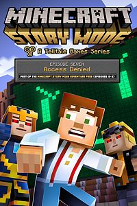 Carátula del juego Minecraft: Story Mode - Episode 7: Access Denied de Xbox One