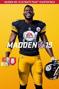Carátula del juego Madden NFL 19 Ultimate Team Starter Pack