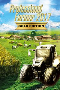 Carátula del juego Professional Farmer 2017 - Gold Edition para Xbox One