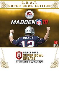 Madden NFL 18: G.O.A.T. for Xbox One [Digital Download]