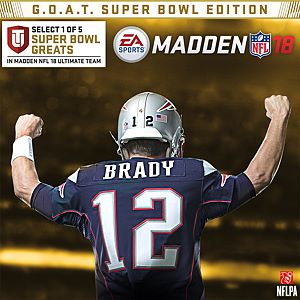 Madden NFL 18:  G.O.A.T. Super Bowl Edition Xbox One