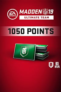 Carátula del juego Madden NFL 19 Ultimate Team 1050 Points Pack