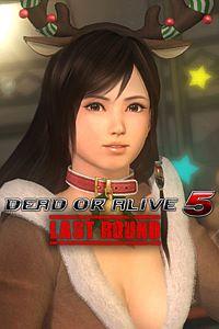 Carátula del juego DEAD OR ALIVE 5 Last Round Kokoro Christmas Costume