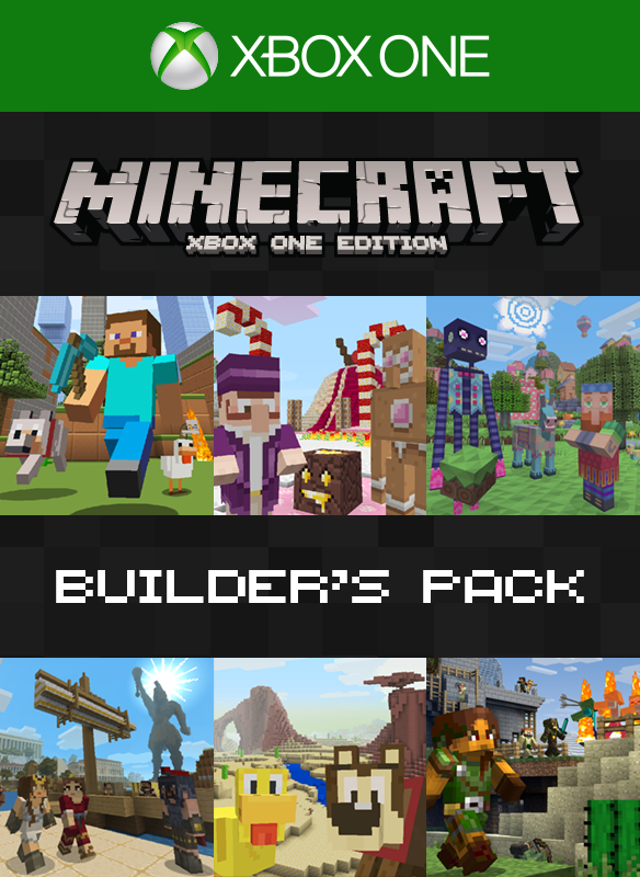 Minecraft ビルダーズ パック boxshot