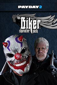 Carátula del juego PAYDAY 2: CRIMEWAVE EDITION - The Biker Character Pack