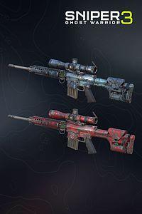 Carátula del juego Weapon skins - Hexagon Ice & Death Pool