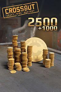 Carátula del juego Crossout - 2500 (+1000 Bonus) Coins