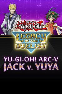 Carátula del juego Yu-Gi-Oh! ARC-V: Jack Atlas vs Yuya de Xbox One