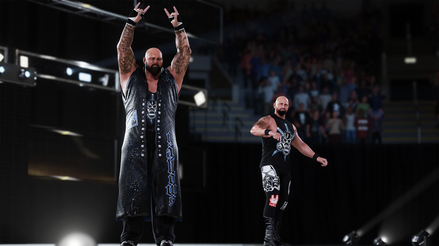 WWE 2K18 Install Size Screenshot