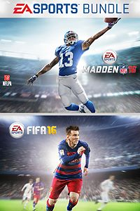 EA SPORTS Madden NFL 16 and FIFA 16 Standard Edition Bundle