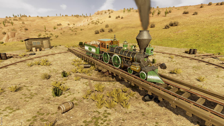 Railway Empire Install Size Screenshot