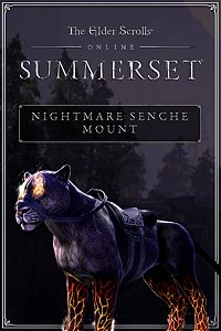 Carátula del juego The Elder Scrolls Online: Nightmare Senche Mount