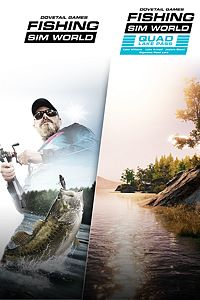 Carátula del juego Fishing Sim World + Quad Lake Pass