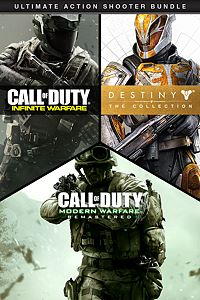 Carátula del juego Call of Duty: IW Legacy + Destiny - The Collection Bundle de Xbox One