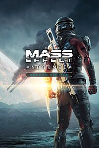 Carátula del juego Mass Effect: Andromeda Deluxe Edition de Xbox One
