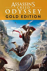 Carátula para el juego Assassin's Creed Odyssey - GOLD EDITION de Xbox One