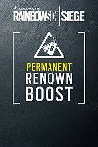 Carátula del juego RAINBOW SIX SIEGE - Permanent Renown boost