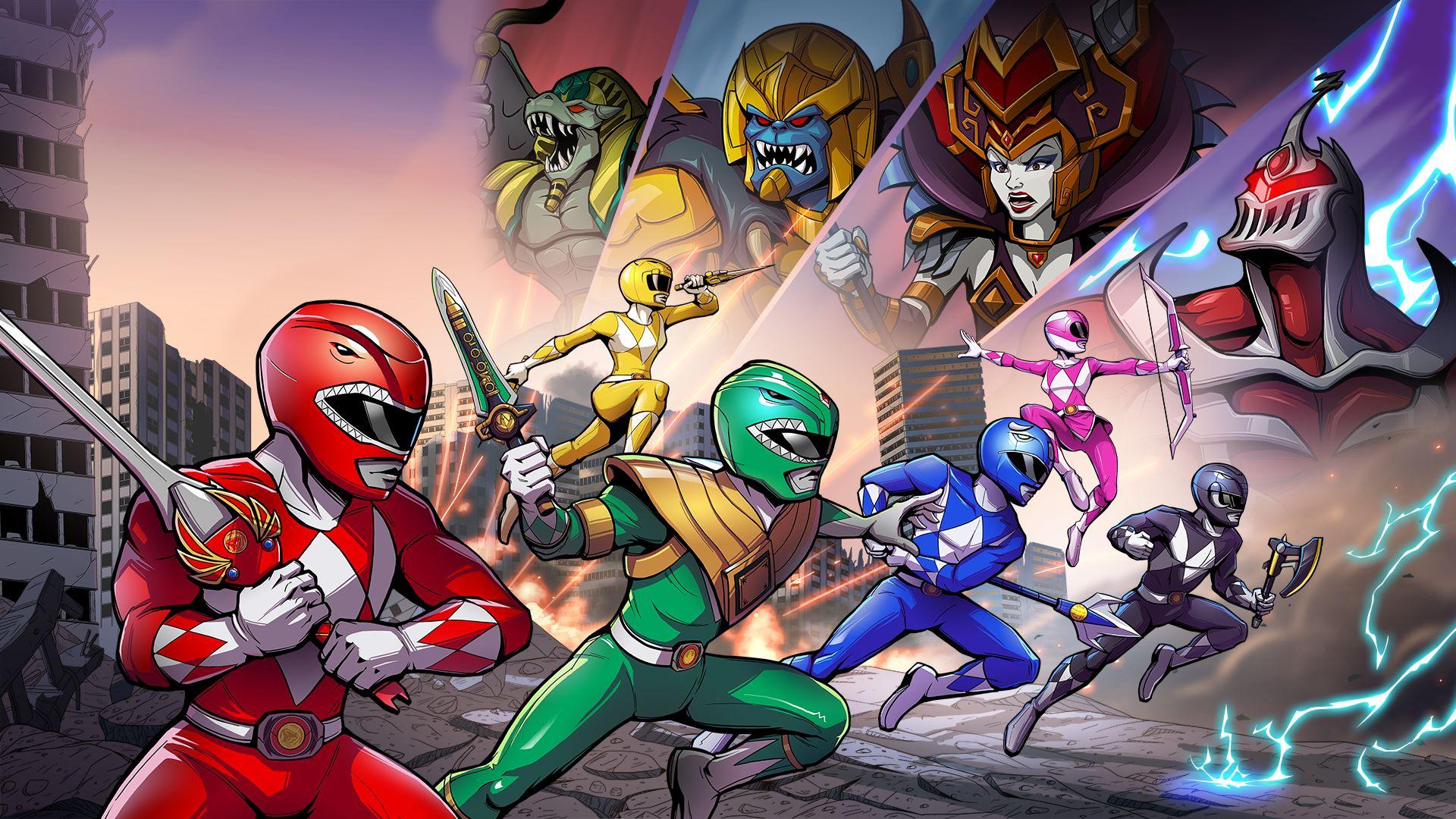 buy saban s mighty morphin power rangers mega battle microsoft