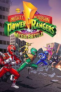 Carátula para el juego Saban's Mighty Morphin Power Rangers: Mega Battle de Xbox 360