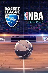 Carátula del juego Rocket League - NBA Flag Pack de Xbox One
