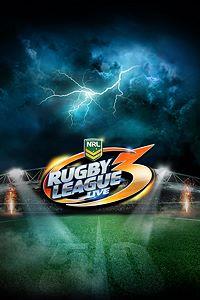 Carátula para el juego Rugby League Live 3 de Xbox 360