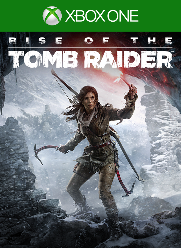 Imagem da caixa do Rise of the Tomb Raider