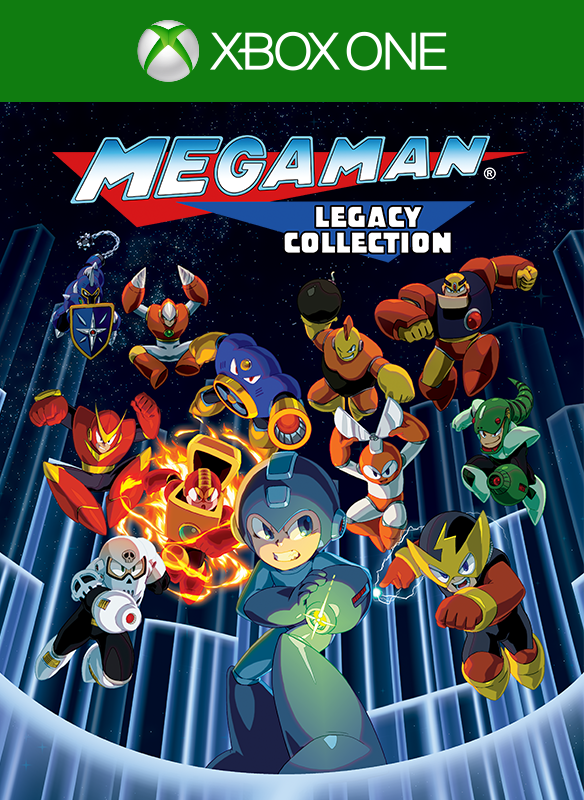 Mega Man Legacy Collection boxshot
