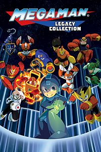 Carátula para el juego Mega Man Legacy Collection de Xbox 360