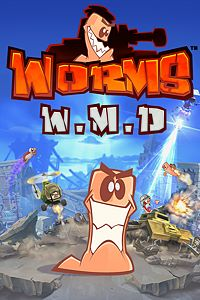 Carátula para el juego Worms W.M.D de Xbox 360