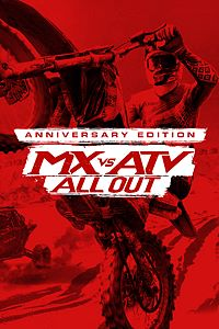 Carátula del juego MX vs ATV All Out - Anniversary Edition