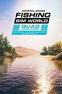 Carátula para el juego Fishing Sim World: Quad Lake Pass de Xbox 360