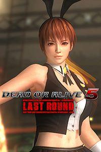 Carátula del juego DEAD OR ALIVE 5 Last Round Sexy Bunny Kasumi