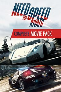 Carátula del juego Need for Speed Rivals Complete Movie Pack de Xbox One