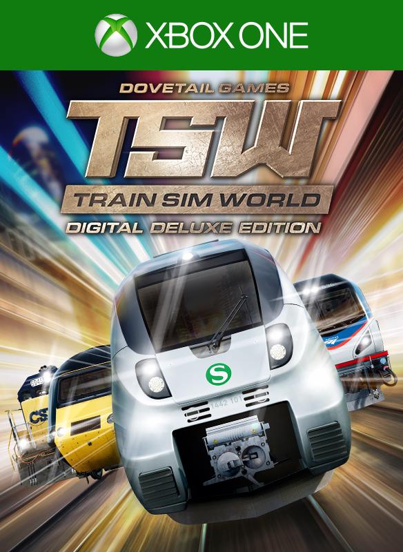 Train Sim World® Digital Deluxe Edition boxshot