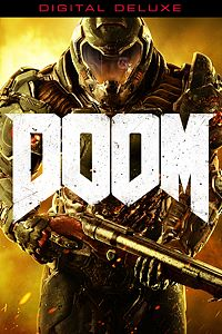 Carátula del juego DOOM Digital Deluxe