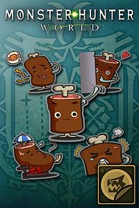 Carátula del juego Sticker Set: Sir Loin Set