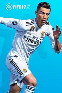 Carátula para el juego FIFA 19 Standard Edition de Xbox One