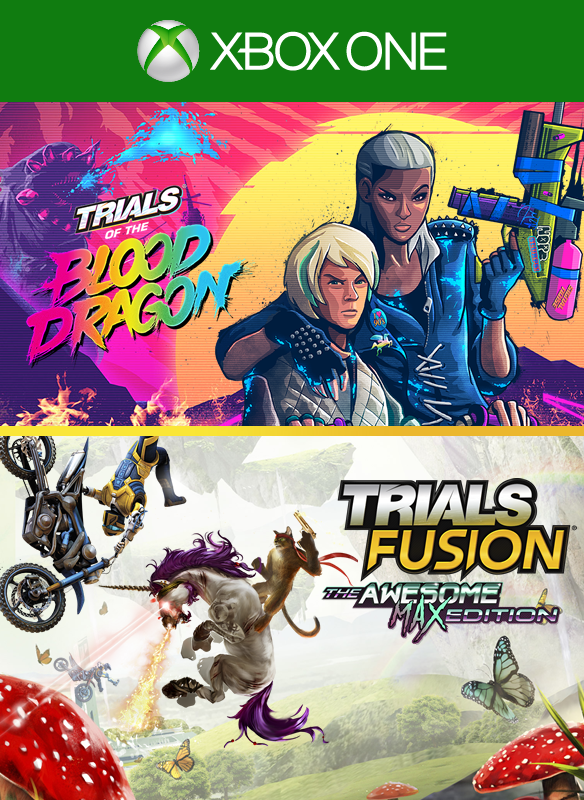 TF Awesome Max Edition + Trials of The Blood Dragon boxshot