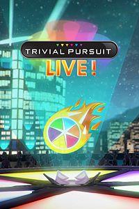 Carátula del juego TRIVIAL PURSUIT LIVE! de Xbox One