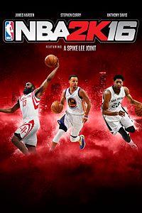 Carátula para el juego NBA 2K16 de Xbox 360