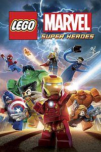 Carátula para el juego LEGO Marvel Super Heroes de Xbox One