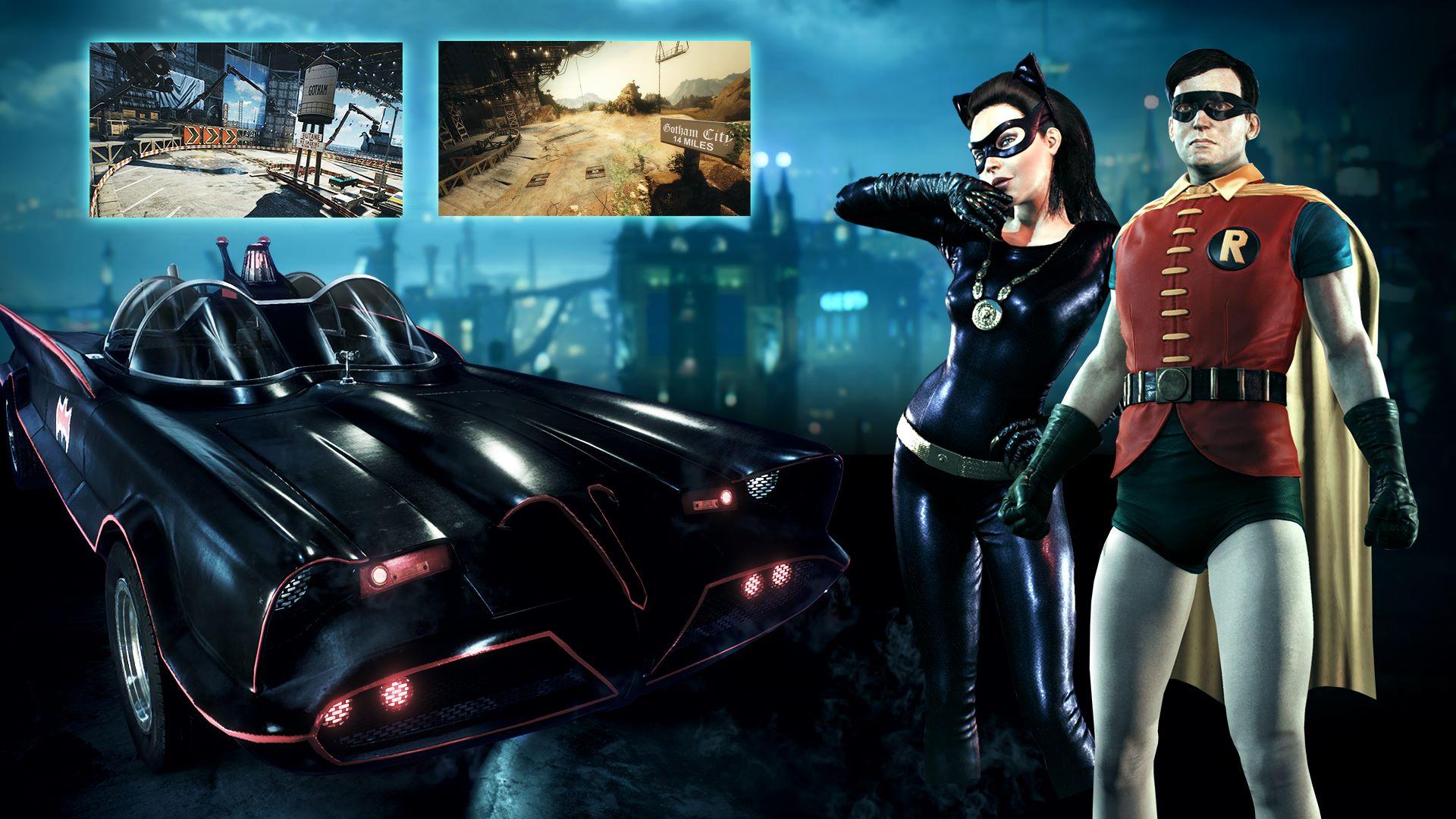 Batman Classic TV Series Batmobile Pack