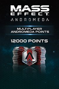 Carátula del juego 12000 Mass Effect: Andromeda Points de Xbox One