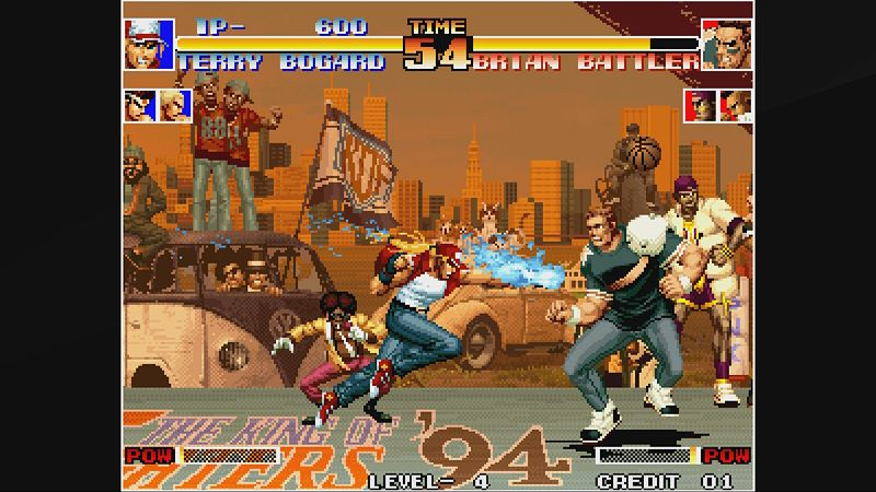 ACA NEOGEO THE KING OF FIGHTERS '94 Screenshot