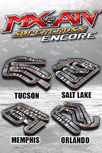 Carátula para el juego Supercross Track Pack 3 de Xbox 360